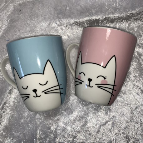 Lot de 2 tasses